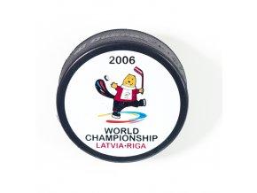 Puk MS 2006 Latvia Riga, maskot