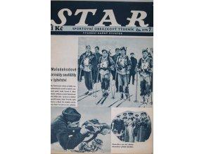 Časopis STAR, Malodohodové armády soutěžily v lyžařství Č. 7 ( 570 ), 1937 (1)