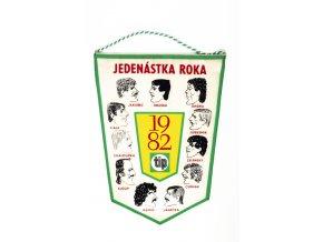 Klubová vlajka fotbal, Jedenástka roku 1982 (1)