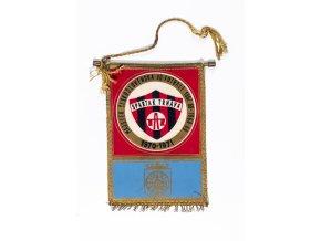 Klubová vlajka Spartak Trnava, 1870 1971