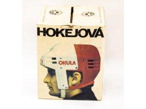 Hokejová přilba OKULA, bílá v původní krabici (2)