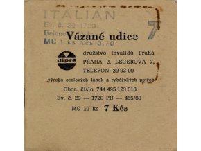 Vázané udice ITALIAN, č.7