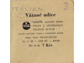 Vázané udice ITALIAN, č.3
