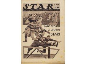 Časopis STAR, Jaro sportu a sportu STAR č. 14 ( 316 ), 1932 (3)