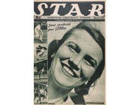Časopis STAR, Jaro sportovců, jaro STARu č. 17 ( 475 ), 1932 (1)