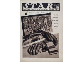 Časopis STAR, Naši hockeyisté přes nepřízeň osudu čestně bojovali č. 13 ( 315 ), 1932 (1)