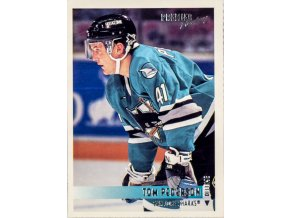 Hokejová kartička, Tom Pederson, San Jose Sharks, 1994 (1)