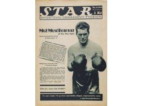 Časopis STAR, Muž musí bojovat č. 51 ( 353 ), 1932