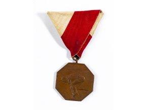 Medaile SK Slavia Praha 1909, skok o tyči (1)