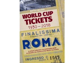 Kniha WORLD cup TICKETS 1930 2018 (1)