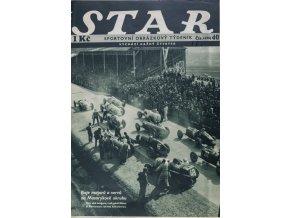 Časopis STAR, Boje motorů a nervů na Masarykově okruhu č. 40 ( 498 ), 1935 (1)