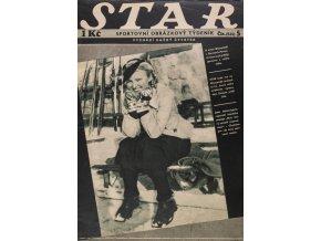 Časopis STAR, K zimní olympiádě v GAPA se sjíždějí sportovci z celého světa č. 5 ( 515 ), 1936 (1)