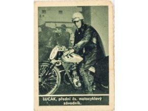 Kartička , Album sportovců, Lucak č. 174