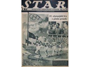 Časopis STAR, XI. Olympijské hry v plném proudu č. 32 ( 542 ), 1936 (1)
