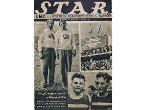 Časopis STAR, Čtyři, jenž se nejvíce zasloužili na OH 36 č. 33 ( 543 ), 1936