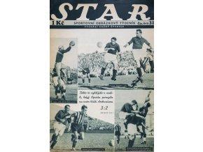Časopis STAR, Sparta porazila Ambrosianu 36 č. 31 ( 541 ), 1936 (1)