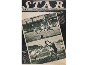 Časopis STAR, Maďarsko ČSR 10 v Pešti č. 39 ( 497 ), 1936