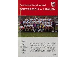 Program Ostereich vs. Litauen, 1992