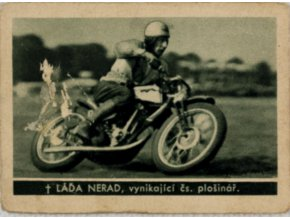 Kartička , Album sportovců, Láďa Nerad č. 173 (1)