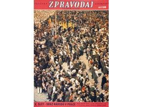 Časopis Pražský ilustrovaný zpravodaj, X. slet sraz národů v Praze (1)