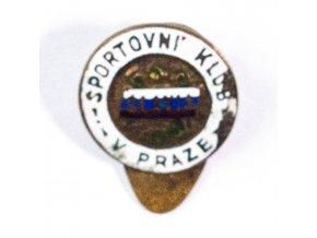 Odznak smalt Slavia Sportovní klub v Praze VII (1) 1