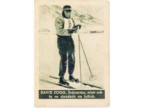 Kartička , Album sportovců, David ZOGG č. 136 (1)
