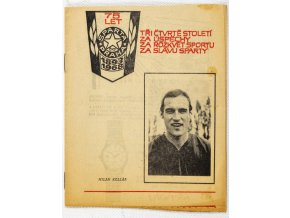 Program fotbal, Sparta Praha v. VSS Košice, 1968