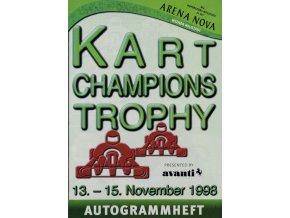 Program Kart Champions Trophy, 1998