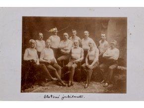 Dopisnice, Sletoví jubilanti 1907 (1)