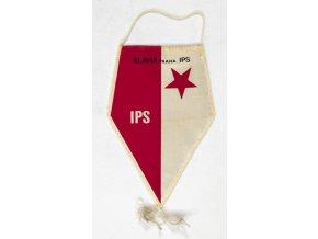 Vlajka klubová Slavia Praha IPS II