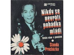 Gramofonová SP deska, věnováni Pepimu Bicanovi (1)