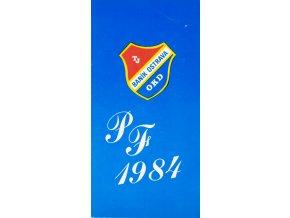 PF 84, TJ Baník Ostrava OKD, podpis (1)