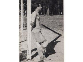 Foto fotbal, znuděný golman