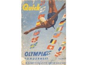 Časopis, Olympia Sonderhet, XV. OS Helsinky, 1952 (1)