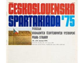 Program Československá spartakiáda, 1975