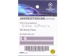 Akreditace UEFA CHL, Borussia, 201920