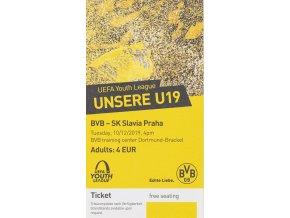 VstupenkaUEFA CHL U19, Borussia v Slavia, 201920 (1)