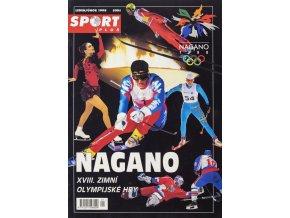 Časopis Sport Plus HOKEJ, XVIII. Zimní Olympijské hry Nagano, 1998 II
