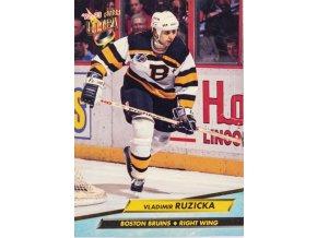 Kartička, Vladimír Růžička Boston Bruins, 1992