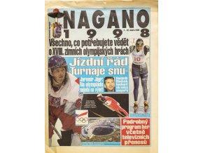 Noviny příloha, XVIII. Zimní Olympijské hry Nagano, 1998