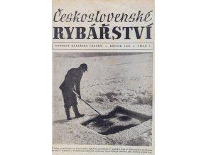 Časopis Rybářství, 11957