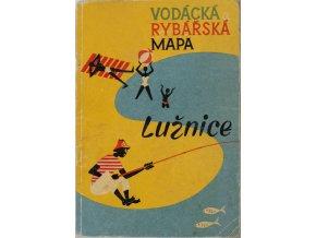 Vodácká a rybářská mapa Lužnice, 1961