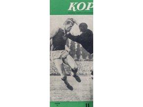 Časopis Kopaná , Listopad 1959 (1)