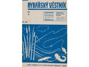 Časopis Rybářský věstník 71937