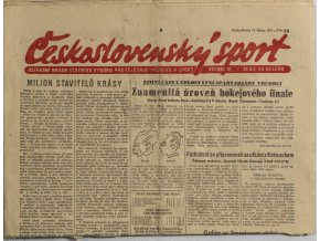 Noviny Československý sport, 331955