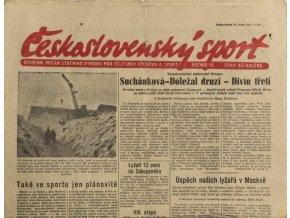 Noviny Československý sport, 131955