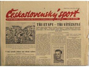 Noviny Československý sport, 541955