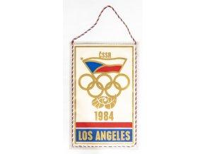Vlajka OH 1984, Los Angeles, ČSSR velká (1)