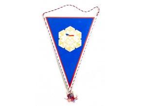 Vlajka OH 1984, Sarajevo, ČSSR velká (2) 1