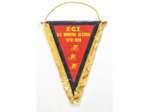 Vlajka MAXI FCI Modena Ollegio 1979 1989